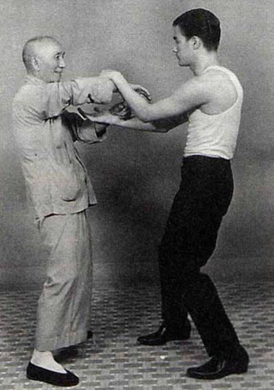 Ip Man and Bruce Lee Chi Sau