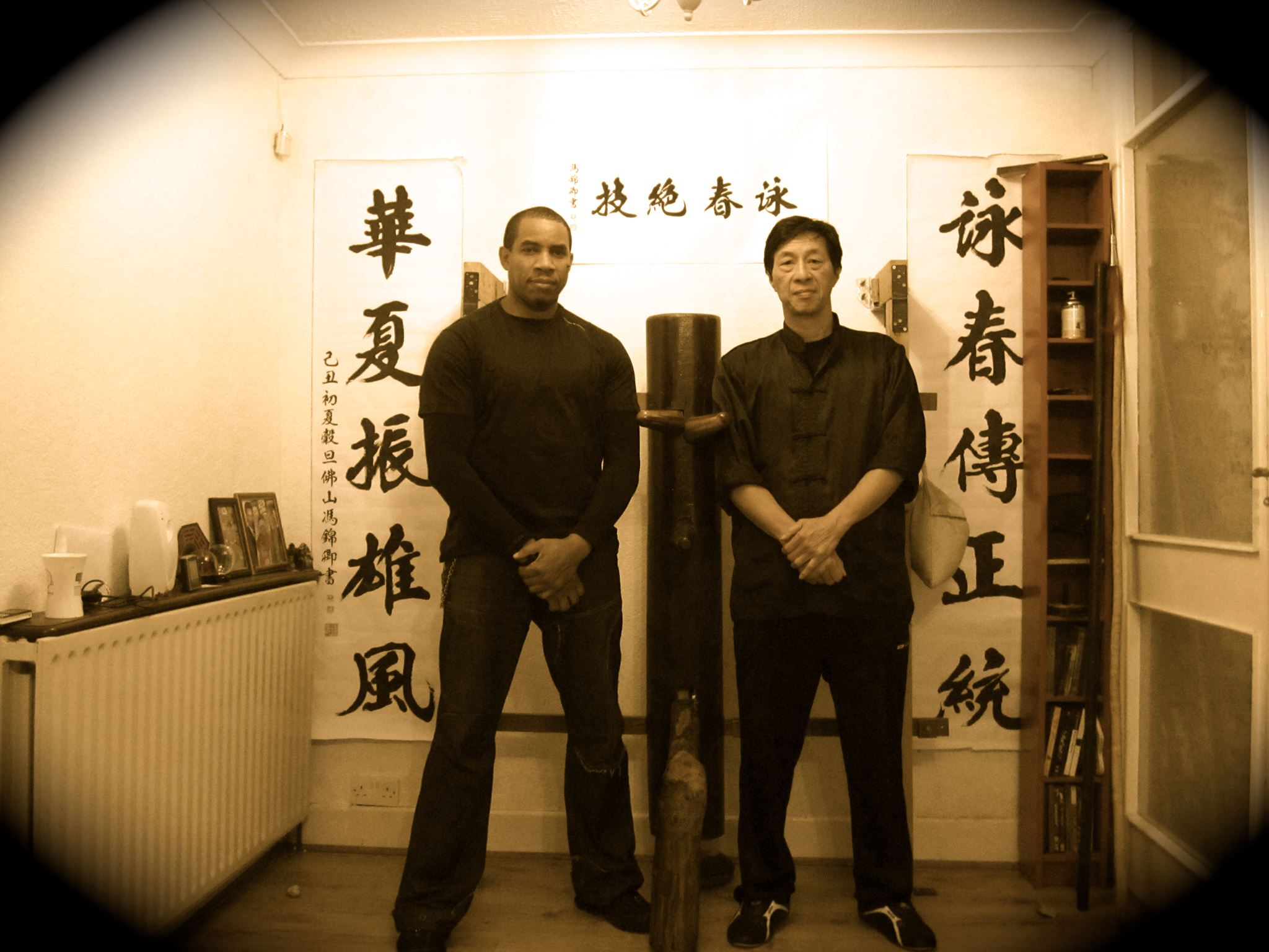 Jeff Alexander and Sifu kwok