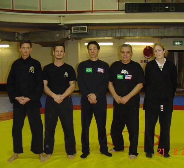 Carlson Gracie and Sam Kwok Wing Chun JuJitsu