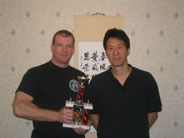 UK full contact Champion Paul Smith and Sam Kwok