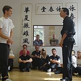 Dan and Sifu Kwok demo