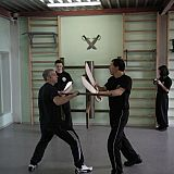 knife defence afainst pole