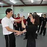 sifu kwok teaching chi sau in russia