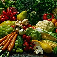 Fruit and Veg is high in Fibre