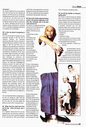 martial arts illustrated 2005 yip man